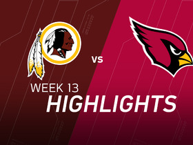 Redskins vs. Cardinals highlights
