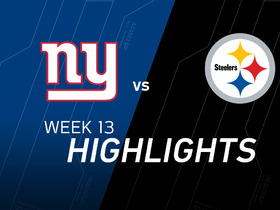 Watch: Giants vs. Steelers highlights
