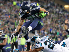 Thomas Rawls keeps balance, picks up 12 yards