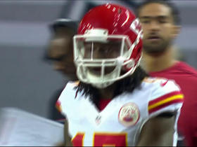Watch: Chris Conley drops pass from Alex Smith