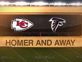 Watch: Best radio calls: Chiefs with a game-winning Pick-Two over the Falcons | Homer and Away