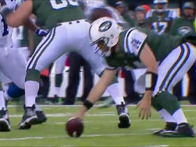 Watch: Fitzpatrick handles low snap fumble, picks it up