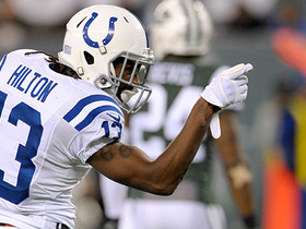 Watch: T.Y. Hilton makes Jets defender look silly on 24-yard catch