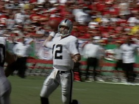 Watch: 2001: Raiders vs. Chiefs short highlights