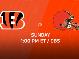 Watch: Week 14 Game Preview: Bengals vs. Browns