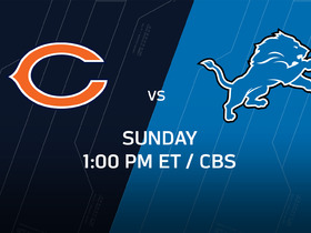 Watch: Week 14 Game Preview: Bears vs. Lions