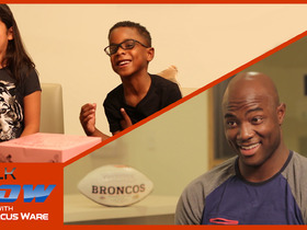 Watch: Ware kids take over | Talk NOW with DeMarcus Ware
