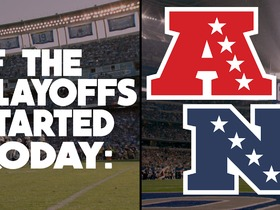 Watch: IF THE PLAYOFFS STARTED TODAY : AFC NFC