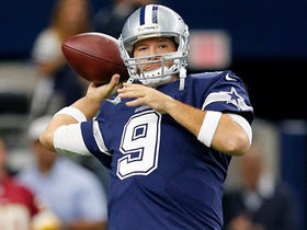 Watch: Warner: Cowboys could boost trade value with reps for Romo