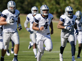Watch: Slater: Weather helping Cowboys prepare to face Giants