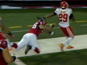 Watch: Brazilian announcers call Eric Berry's pick-6