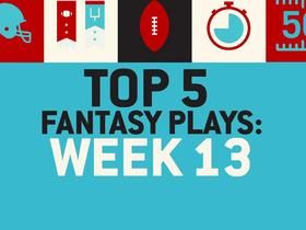 Watch: Top 5 Fantasy Plays of Week 13