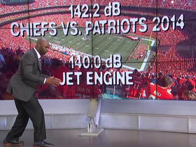 Watch: Reggie Wayne discusses unique conditions at Arrowhead