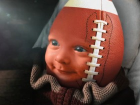 Watch: Week 14: Football Baby