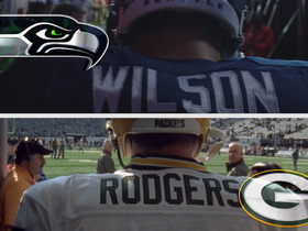 Watch: Wilson and Hawks vs. Rodgers and Pack
