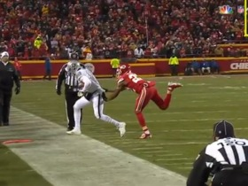 Watch: Instant Replay: Did Cooper get both feet down?