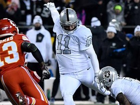 Watch: Janikowski kicks FG for 10th career 100-plus point season