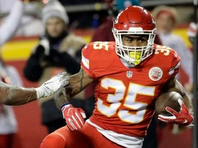 Watch: Charcandrick West rushes 3-yards for TD