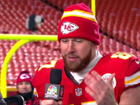 Watch: Kelce: Marquette King told me I have no rhythm
