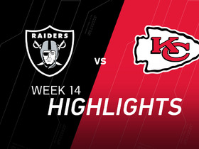Watch: Raiders vs. Chiefs highlights