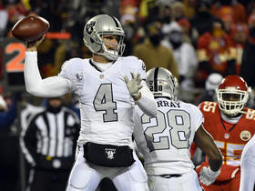 Watch: Did Derek Carr's finger affect his play?