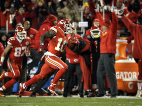 Watch: Brazilian announcers call Tyreek Hill punt return for TD