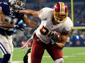 Watch: Garafolo: Question for Jordan Reed in Week 14 is pain tolerance