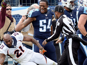 Tempers flare in Tennessee following cut block on Chris Harris Jr.