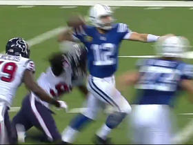 Luck throws second INT of the day
