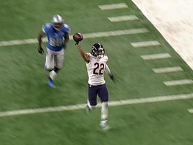 Cre'Von LeBlanc nabs pick-six against Stafford