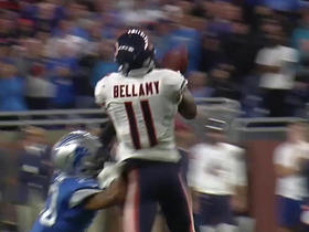 Josh Bellamy drops pass on 4th down to end game