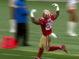 Carlos Hyde turns the corner for 43 yards on run