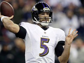 Joe Flacco shows pinpoint accuracy on pass to Mike Wallace
