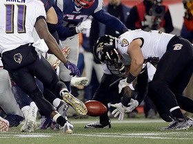 Patriots have another special teams miscue, Ravens take advantage