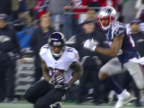 Joe Flacco lasers pass to Mike Wallace for 20 yards