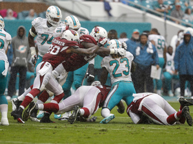 'Sound FX': Cardinals' Jones,  Dolphins' Aikens pump up their teams