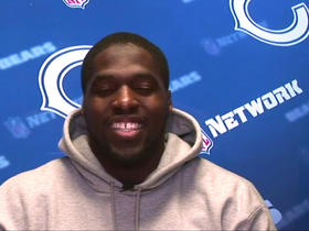 Sam Acho recites lines from