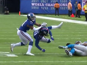 Janoris Jenkins injured on collision with teammate Trevin Wade