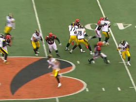 Sammie Coates goes for 15 yards on end-around