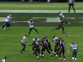 Joe Flacco picked off by Jordan Hicks