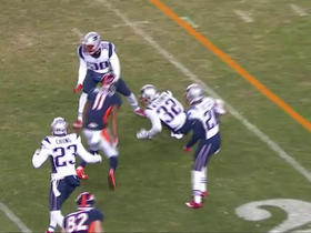 Jordan Norwood loses his second fumble of the game