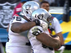 Philip Rivers sacked by Bruce Irvin for loss of 5 yards