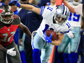 Cole Beasley picks up 22 yards off the slant