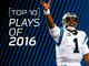 Watch: Cam Newton: Top 10 Plays of 2016