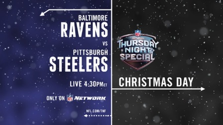 steelers christmas day promo nfl videos - Nfl Schedule Christmas Day