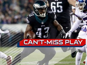 Can't-Miss Play: Darren Sproles cuts through holes for 25-yard TD