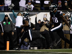 Eagles' first three touchdowns of 'TNF'