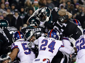 Giants defense stands strong, stuffs Eagles on four goal line plays