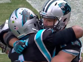 Greg Olsen sets NFL record with third straight 1,000 yard season