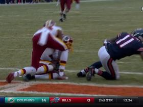 Bashaud Breeland picks off Matt Barkley in the end zone